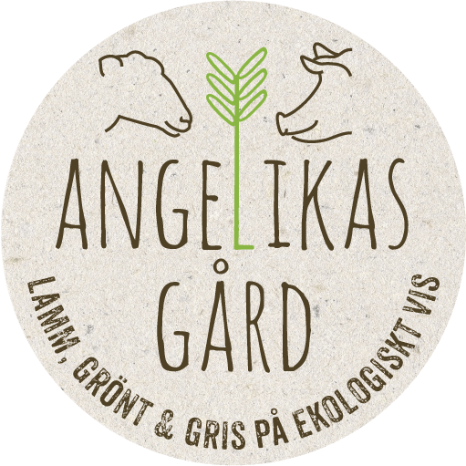 Angelikas gård lamm, grönt och gris på ekologiskt vis