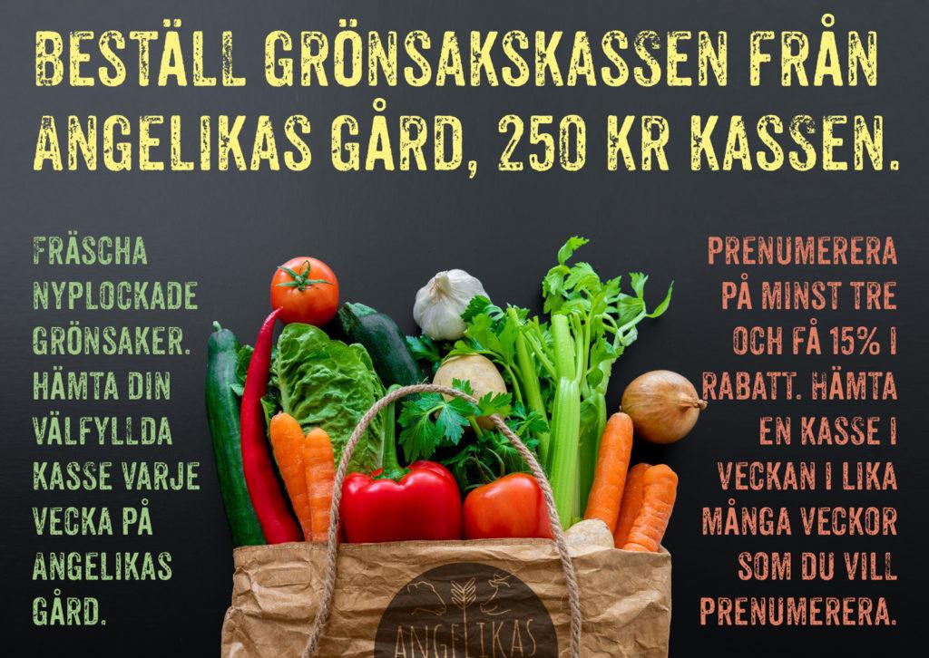 Beställ Angelikas grönsakskasse